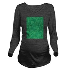 Green Circuit Board Long Sleeve Maternity T-Shirt