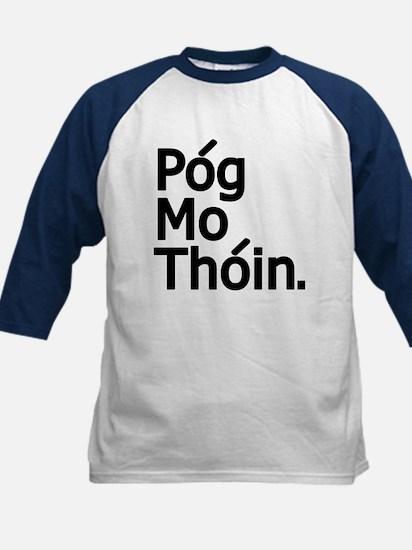 POG MO THOIN Kids Baseball Jersey