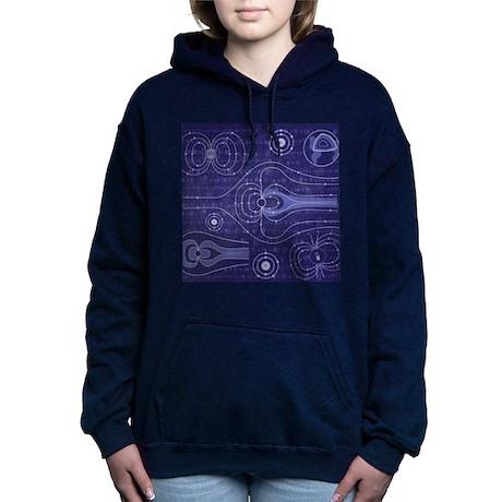 The Earths Magnetosphere Hooded Sweatshirt