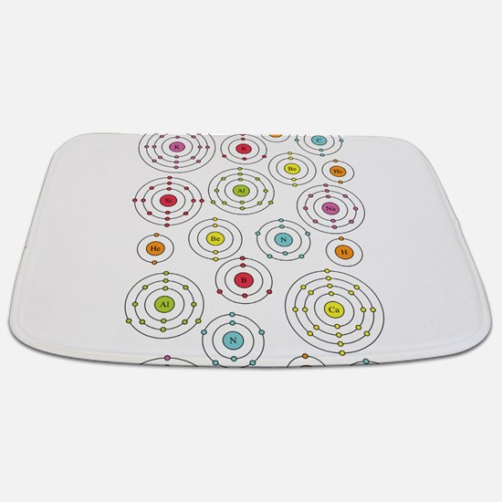Periodic Shells (Dark) Bathmat