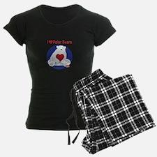 I Heart Polar Bears Pajamas