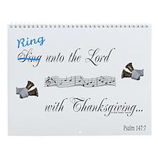 Thanksgiving Wall Calendar