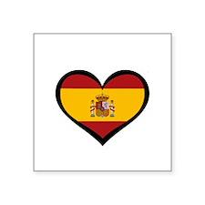 Spanish Love Rectangle Sticker