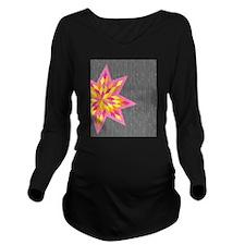 Morgan's Star Long Sleeve Maternity T-Shirt