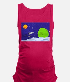 spacepatrol_ipad.png Maternity Tank Top