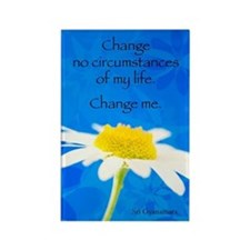 Change No Circumstance... Magnet Magnets