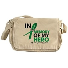 Liver Disease In Memory Messenger Bag