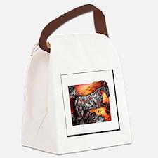 Hraunkot Canvas Lunch Bag