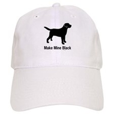 Make Mine Black Baseball Cap
