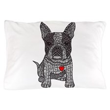 Friend - Boston Terrier Pillow Case