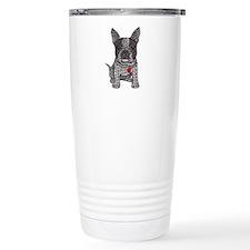 Friend - Boston Terrier Travel Mug