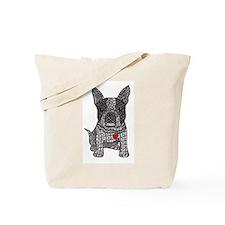 Friend - Boston Terrier Tote Bag