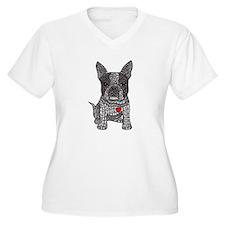 Friend - Boston Terrier Plus Size T-Shirt