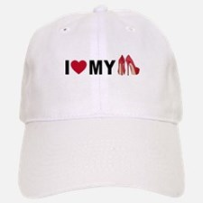 I love my red shoes Baseball Baseball Baseball Cap