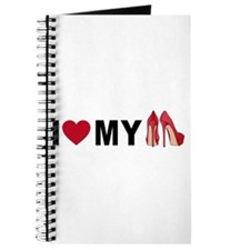 I love my red shoes Journal