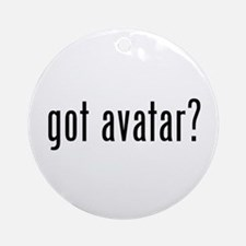 Got Avatar? Ornament (Round)