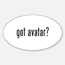 Got Avatar? Oval Decal