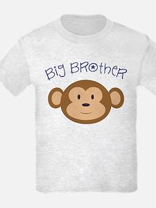 Big Brother Monkey Kids T-Shirt