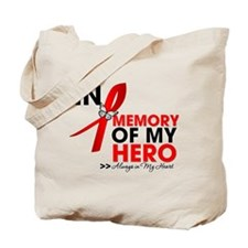 Heart Disease In Memory Tote Bag
