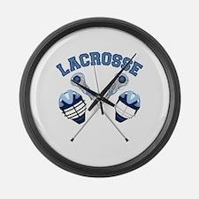 Lacrosse 1 Large Wall Clock