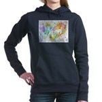 Community Hearts Color Hooded Sweatshirt