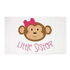 Little Sister Monkey 3'X5' Area Rug