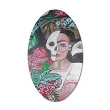 Original Painting of Frida Wall Decal