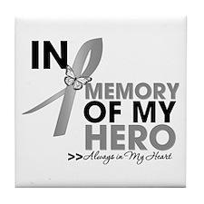 Diabetes In Memory Tile Coaster