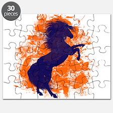 Denver Bucking Broncos Horse Puzzle