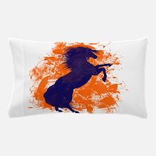 Denver Bucking Broncos Horse Pillow Case
