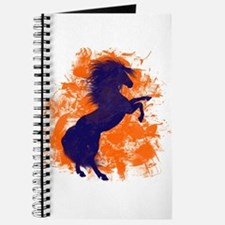Denver Bucking Broncos Horse Journal