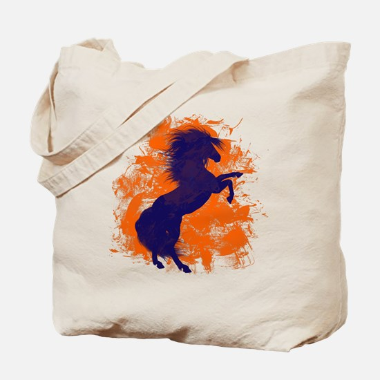 Denver Bucking Broncos Horse Tote Bag