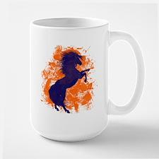 Denver Bucking Broncos Horse Mugs