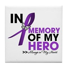 Cystic Fibrosis In Memory Tile Coaster
