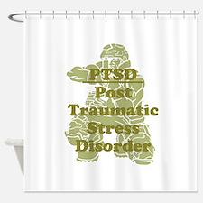 PTSD Shower Curtain