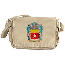 Annett Coat Of Arms Messenger Bag