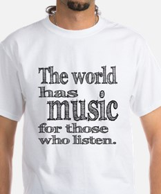 The World has Music Shirt