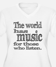 The World has Music T-Shirt
