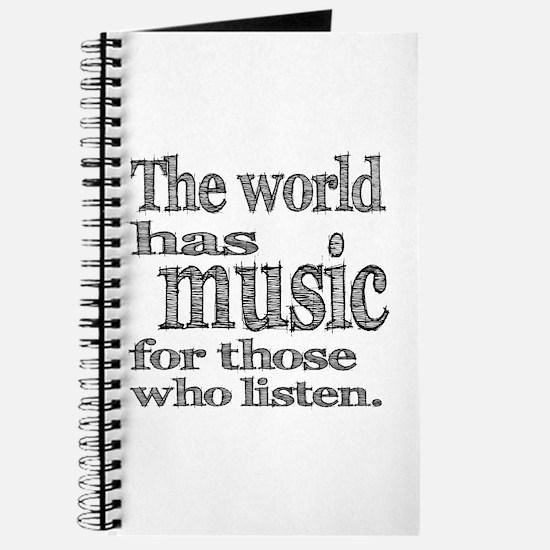 The World has Music Journal