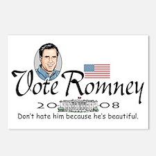 Beautiful Mitt Romney Postcards (Package of 8)