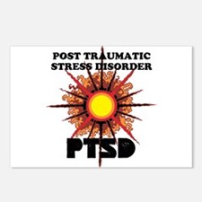 PTSD Postcards (Package of 8)