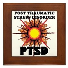 PTSD Framed Tile