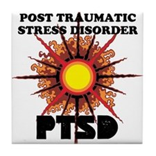PTSD Tile Coaster