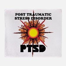 PTSD Throw Blanket