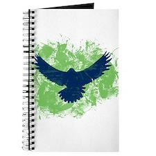 Seattle Soaring Sea Hawk Birds Journal