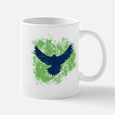 Seattle Soaring Sea Hawk Birds Mugs