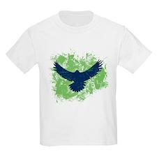 Seattle Soaring Sea Hawk Birds T-Shirt