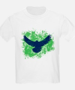 Seattle Soaring Sea Hawk Birds T-Shirt