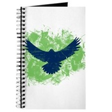 Seattle Soaring Sea Hawk Birds Journal
