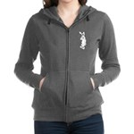Tortoise And The Hare Revisited Womens Zip Hoodie